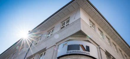 Außenansicht der Stadtbibliothek Lörrach